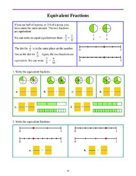 Fractions, Grades 1-3