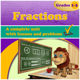 Fractions, Grades 1-3 (Distance Learning)
