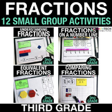 Fractions Guided Math Activities - 3rd Grade Exit Tickets