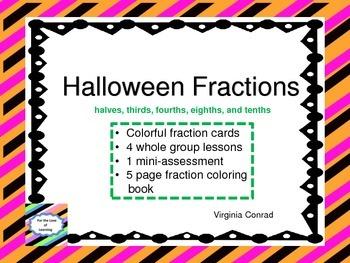 Fractions---Halloween Theme