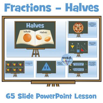 Fractions: Halves