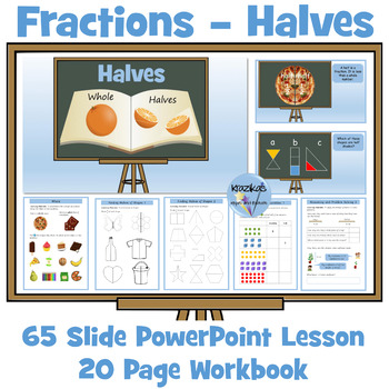 Fractions: Halves
