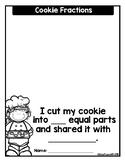 Fractions: Halves Cookies