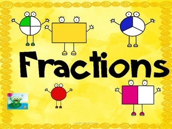 Fractions: Halves, Thirds, and Fourths   Virginia SOL 1.3