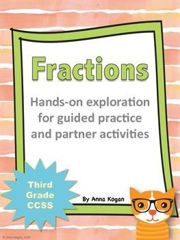 3rd Grade Fractions Hands-On Activities