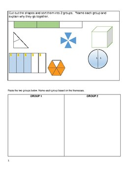 Fractions- How to Write, Draw, and Read a Fraction