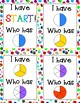 """Fractions """"I Have, Who Has"""" 2 sets!"""