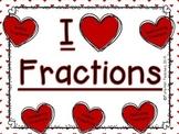 Fractions - I Heart Fractions