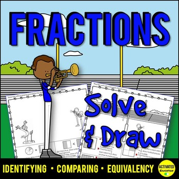 3rd Grade Fractions: Identify, Compare, Equivalent Fractions