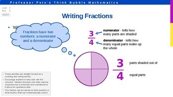 Fractions: Identify, Read and Write PPT (Lesson 1) FREE