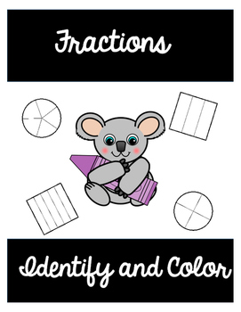 Fractions Identify and Color