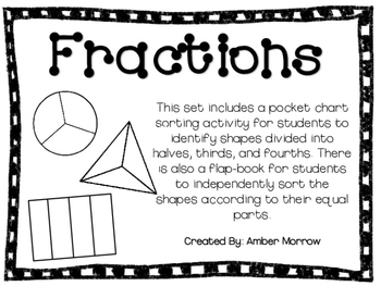 Fractions: Identifying Equal Parts