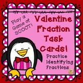 Fractions - Identifying Fractions - Valentine Game