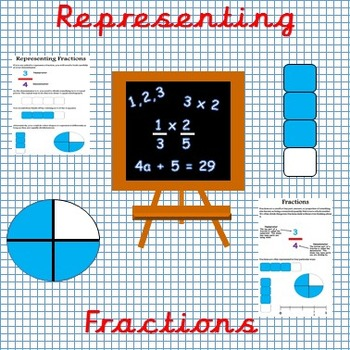 Fractions (Identifying and representing fractions)