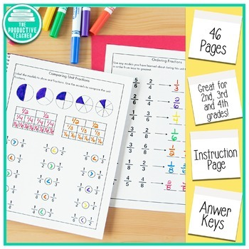 Fraction Review Worksheets