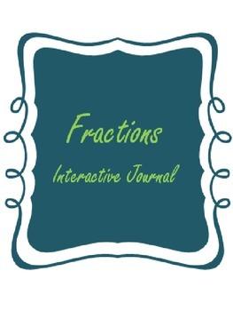 Fractions Interactive Journal