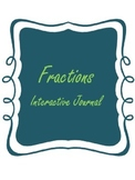 Fractions Interactive Journal