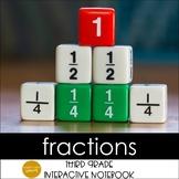 Fractions Interactive Notebook Grade 3