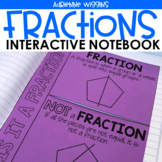 Fractions Interactive Notebook Pages