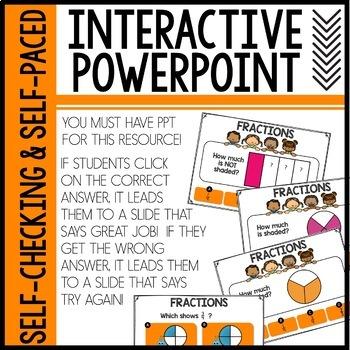 Fractions Interactive Powerpoint