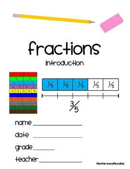 Fractions Introduction + Templates