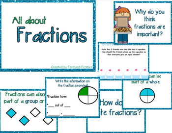 Fractions Introduction or Review Lesson