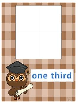 Introduction to Fractions Center Games