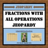 Fractions Jeopardy (Add, Subtract, Multiply, Divide with U