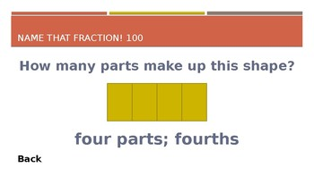 Fractions Jeopardy (Grade 3)
