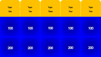 Fractions Jeopardy Review 2