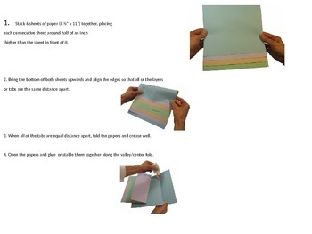 Fractions - Layered Flip Book