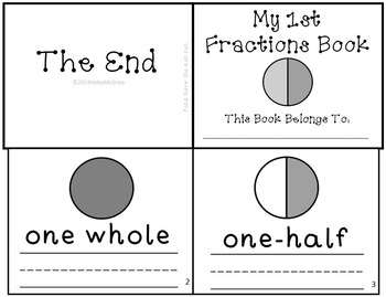 Fractions Learning Activity Set