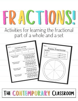Fractions: Learning the fractional part of a whole and a set