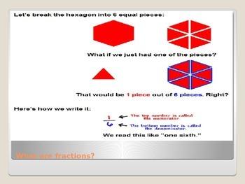 Fractions Lesson 1: The Basics