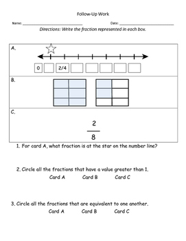Fractions Lesson