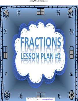 Fractions - Lesson 2 - Pizza Word Problem Activity