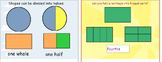 Fractions Lesson - Thirds and Fourths