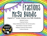 Fractions MEGA Bundle - 4th Grade Common Core Aligned