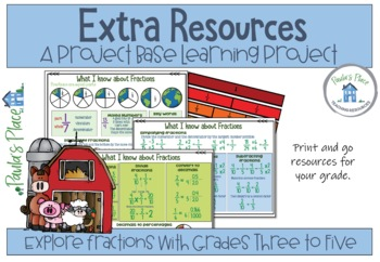 Fractions - Make a Fraction Farm