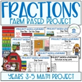 Fractions Make a Fraction Farm Project Based Learning