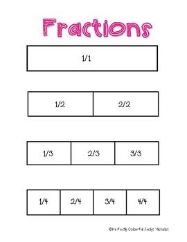 Fractions Manipulative