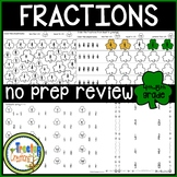 Fractions March Activity Sheets