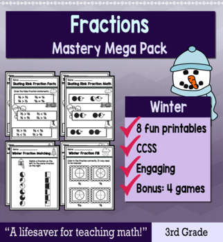 "Fractions ""Mastery Pack"" for January"