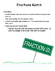 Fractions Match