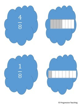 Fractions Sorting Game