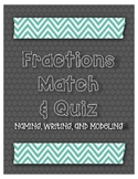 Fractions Match and Quiz