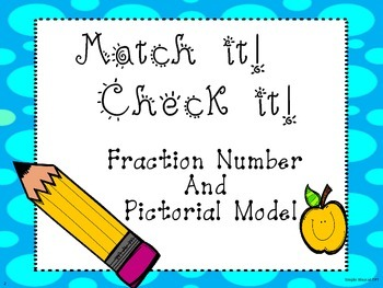 Fractions Match it N Check it ...Number and word