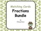 Fractions Matching Cards Bundle