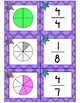 Fractions Matching & Game Cards [Three Sets!]