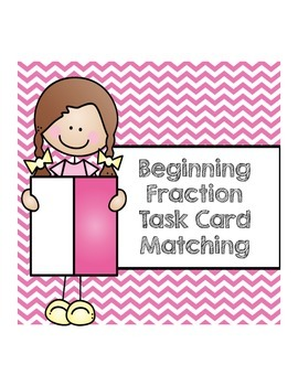 Fractions Matching Task Cards